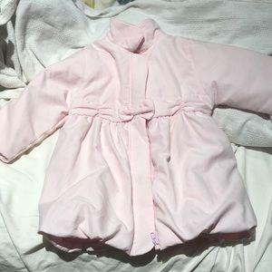 Emile et rose 18m soft light pink coat euc